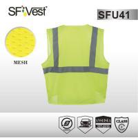 Buy cheap Construction / mining Reflective Safety Shirts , EN ISO 20471 Hi Vis Clothing product