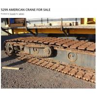 Buy cheap American Crawler Crane 5299 Drive Roller Chain from wholesalers