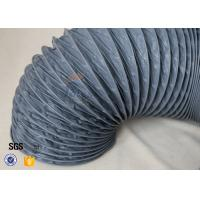 Buy cheap Fire Resistant 200℃ PVC Coated Fiberglass Fabric Flexible Air Duct For Ventilation from wholesalers