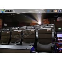 Buy cheap Commercial Theater 4D Movie Equipment With Electric System Motion Chair product