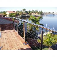 Buy cheap outdoor stainless steel railing balcony railing cable railing from wholesalers