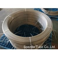 Buy cheap ASTM A789 UNS S31803 Duplex Stainless Steel Pipe ,  Grade 2205 Coiled Stainless Steel Tubing from wholesalers