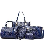 Buy cheap Women Lady Leather handbag set Clutch Wallet Long PU Card Holder Purse Handbag NEW from wholesalers
