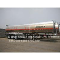 Buy cheap 30-60 CBM Fuel Tanker Trailer / Liquid Tank Trailers with Bottom Loading from wholesalers