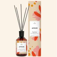 Buy cheap Retro Glass Bottle Home Reed Diffuser Room Fragrance Reed Diffusers No Pollution product