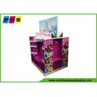 Buy cheap Point Of Sales Cardboard Display Shelves , Four Sided Corrugated Display Stand For Princess Dress PA043 from wholesalers