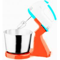 Buy cheap Stand Beater Electric Hand Held Mixer Whisk White With Blue from wholesalers