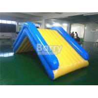 Buy cheap Commercial 4 * 2 * 2M Floating Water Inflatable Slide With 0.9mm PVC Tarpaulin from Wholesalers