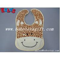Buy cheap 13 Baby Infant Personalized Plush Giraffe Baby Bibs from wholesalers