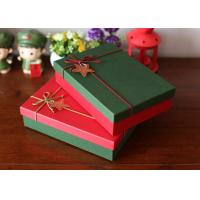 Buy cheap 4C Offset Printed Packaging Boxes / Christmas Gift Boxes Scrathed Resistant from wholesalers