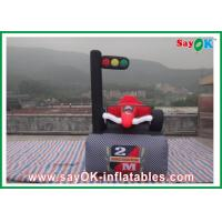 Buy cheap Durable Oxford Cloth Inflatable Cartoon Customized For Car Races from wholesalers