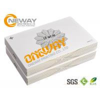 Buy cheap Sliding Rigid Cardboard Custom Printed Gift Boxes With Foam Insert from wholesalers