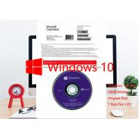Buy cheap OEM German Windows 10 Pro OEM Sticker 64bit 1pk DSP DVD Software Professional from wholesalers