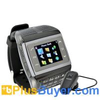 Buy cheap Panther - 1.3 inch Touchscreen Mobile Phone Watch with Keypad (Bluetooth, Quadband) from wholesalers