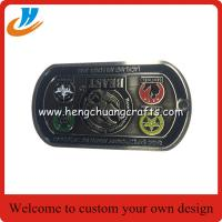 Buy cheap Hot sell dog tag zinc alloy military challenge coin for souvenir from wholesalers