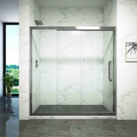 Buy cheap dry and wet separation partition One Type shower room shower glass from wholesalers
