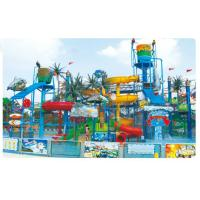 Buy cheap Kids LLDPE Plastic Splash / Spray Park Equipment For Fun , 16m x 10m x 7.2m from wholesalers