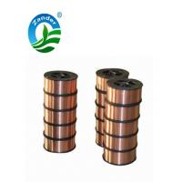 Buy cheap 0.8mm Co2 protected ER70S-6 welding wire from wholesalers