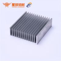 Buy cheap Anodized finish Custom 6061/6063 aluminium hest sink Extruded Aluminum Profile Heat Sink Manufacturer in China from wholesalers