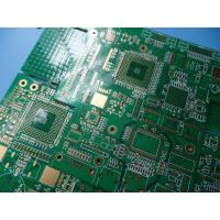 Buy cheap GPS Logger 10 Layer BGA PCB High Tg FR4 1.6mm 1oz With Green Mask from wholesalers