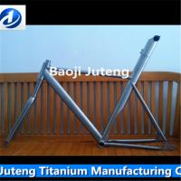 Buy cheap Gr9 titnaium bicycle frames in china from wholesalers