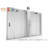 Buy cheap Super Clear Vision Transparent LED Display , SMD3535 Transparent Video Wall from wholesalers