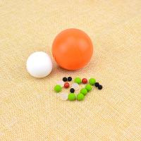 China Mini Food Grade Silicone Ball 2MM 3MM 4MM 5MM Small Silicone Ball on sale