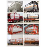 Buy cheap Chinese Compatitive Price 5000-12000 Liter LPG Tank Container with Good Quality (CLW8100) from wholesalers