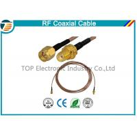 Buy cheap RG36 RF Coaxial Cable SMA Male Plug To SMA Female Bulkhead Connector from wholesalers
