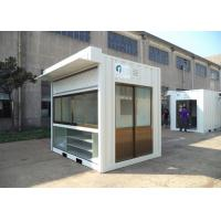 Buy cheap Easy Installation Commercial Prefab Buildings Modern Prefab Homes Eco Friendly For Shop from wholesalers