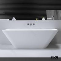 Buy cheap Kingkonee Solid Surface Artificial Stone Free standing Bath tubs from wholesalers