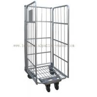 Buy cheap 500kg Capacity Warehouse Equipments Euro Style Roll Container Powder Coating Finishes from wholesalers
