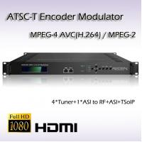 Buy cheap REM7004 Four-Channel DVB-S2 TO ATSC Modulator from wholesalers