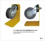 Buy cheap TPE Double Flakes Swivel Elevator Trolley Plain Bearing Castor Wheels , Diameter 100mm from wholesalers