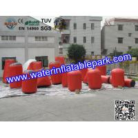 Buy cheap Magical Inflatable Paintball Bunkers , PVC Tarpaulin Laser Tag Bunkers from wholesalers