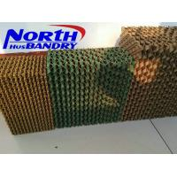 Buy cheap Inorganic Evaporative Cooling Pad for evaporative cooler or poultry farm / greenhouse from wholesalers