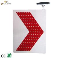 Buy cheap manufacturer solar road sign solar power led flashing traffic signal arrow traffic sign from wholesalers