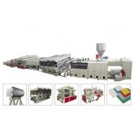 Buy cheap High speed WPC Furniture Wood Board Double Screw Extruder stable running from wholesalers