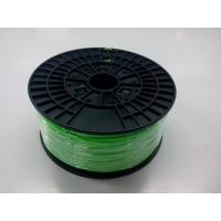 Buy cheap Flourescent Green 3D Printer ABS Filament Spool 1.75mm For Objet 3D Printers product