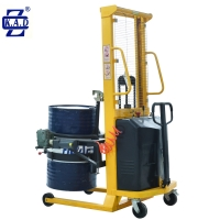 Buy cheap DA450 1.5M Stainless Steel 350kg Hydraulic Drum Lifter Handler Tilter from wholesalers