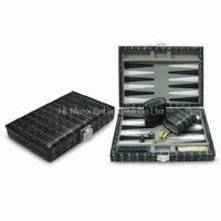 Buy cheap Embossed Nail Design Vinyl Backgammon Set, Available in Various Colors and Pattern from wholesalers