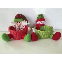 Buy cheap New Life Style Lovely Plush Gift Basket for Christmas from wholesalers