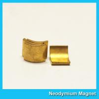 Buy cheap Arc Shaped Neodymium Motor Magnets N38H Grade Wind Generator NdFeb Magnet from wholesalers