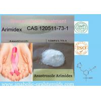 Buy cheap SERMs Arimidex / Anastrozole CAS 120511-73-1 For Breast Cancer Treatment from wholesalers