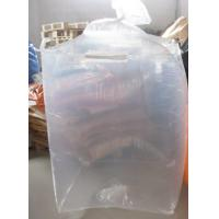 Buy cheap Bulk Form Fit PE big bag liner attached to outer Polypropylene Jumbo Bags from wholesalers