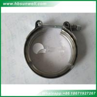 Buy cheap Cummins diesel engine parts 6BT 6L ISL QSL8.9 V band clamp 3923060 3069053 V-Band clamp from wholesalers