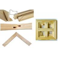 Buy cheap Sell Fir Wood Stretcher Bar with Tongue and Groove Fhinish from wholesalers