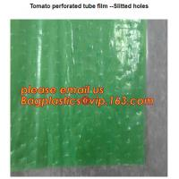 Buy cheap Perforated Black Agricultural Mulch Film for Weed Control Membrane,Pre-stretch Perforated UV Resistant Agriculture Film from wholesalers