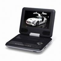 Buy cheap Portable DVD Player with 7-inch TFT LCD and 270 Degrees Swivel Screen from wholesalers