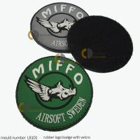 Buy cheap Velcro 3d pvc patch custom military patches velcro rubber patch velcro from wholesalers